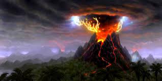 Resultado de imagen de volcan en erupcion