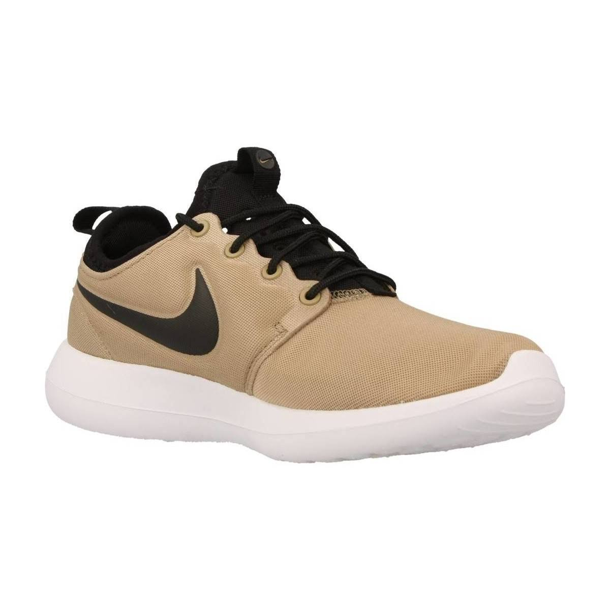 W Nike Roshe Two, Khaki/Black-Black-White