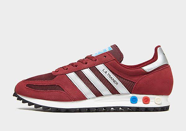 Burgundy Adidas Mens La Trainer Originals Trainers And vI8F1pxI