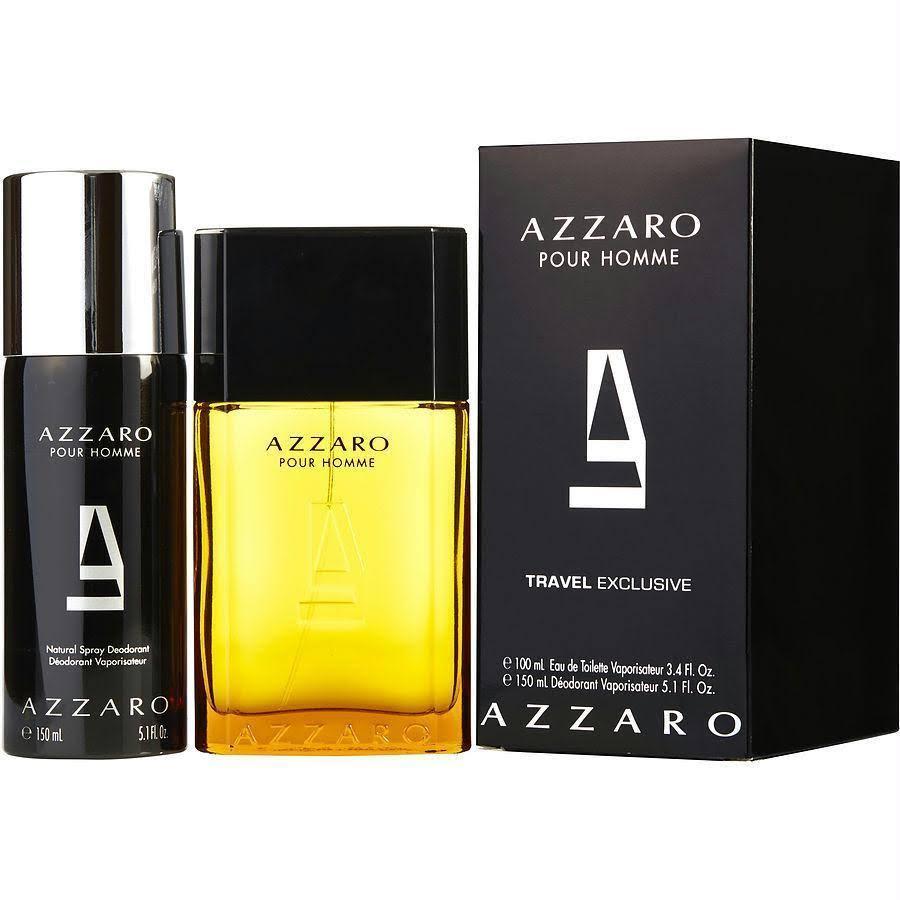 Para Azzaro Piezas Hombres Toilette eau Desodorante De 2 Y zdqdwr