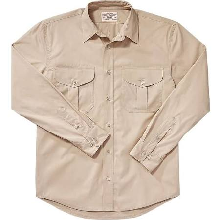 Plumas Hombre Tan Para Camisa De Xs Tela Filson Desert 1wqT6Ta