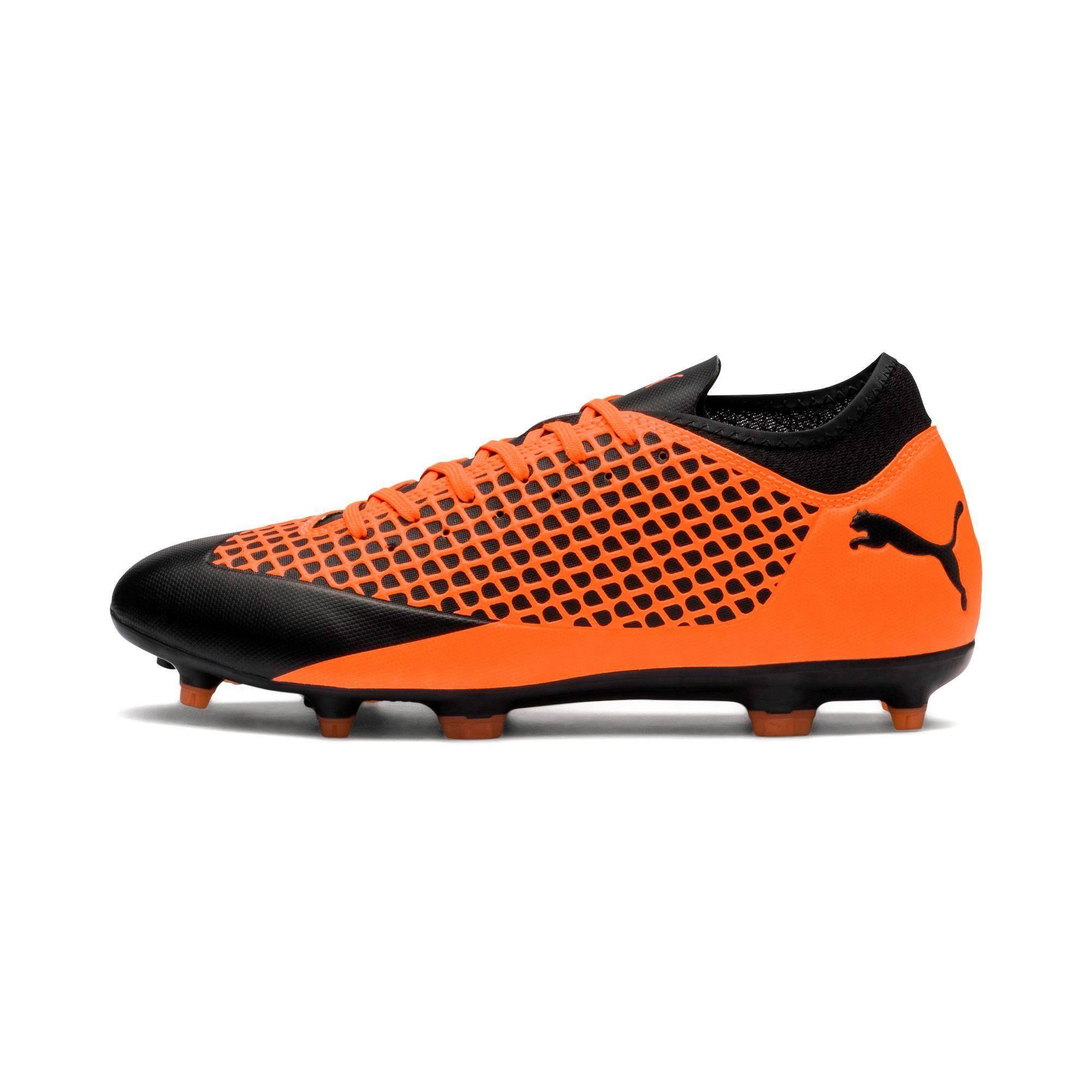 Puma Orange Soccer Bodenschuhe 2 104839 Shockingorange 4 02 In Feste Pumablack Future HTHrS