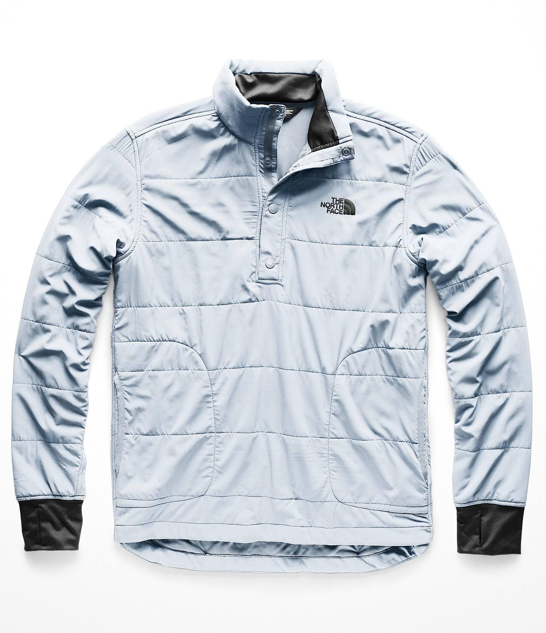 S North 1 The Face Sweatshirt Herren Gull Blue Snap 4 Berg Neck fwq1qSPx