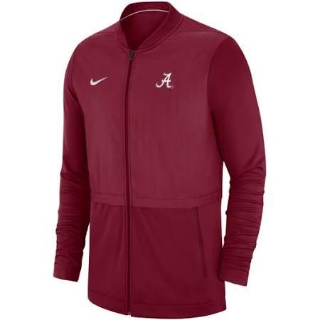 2018 Jacket Nike Für Herren Hybrid Sideline Tide Crimson Alabama RxwtqzH
