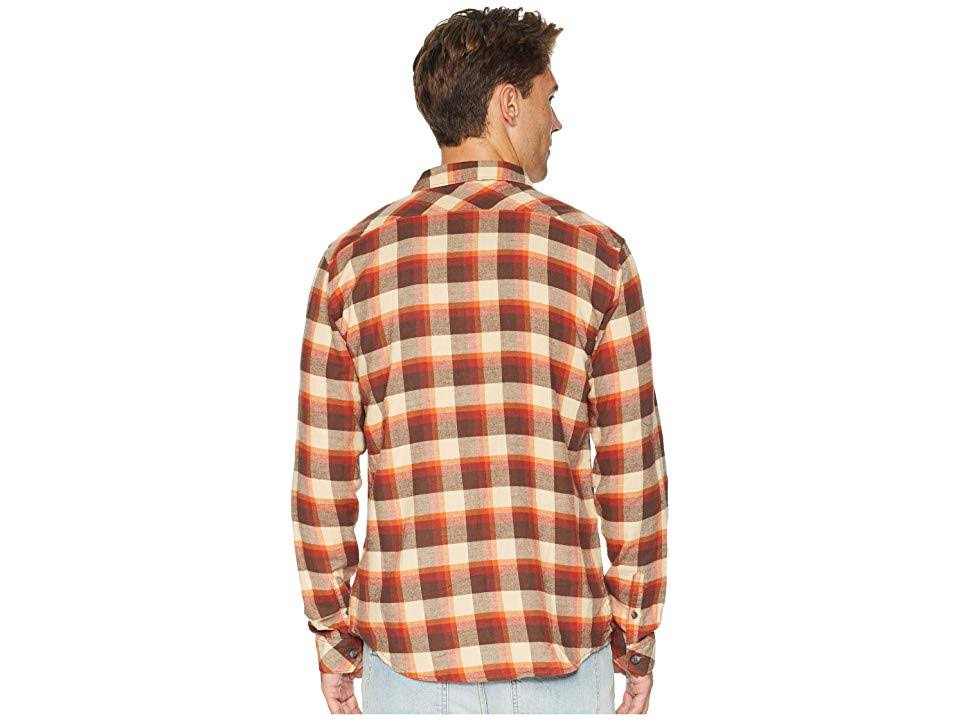 M Rust Hombres Billabong Para Freemont Brown Flannel xBnwE18q