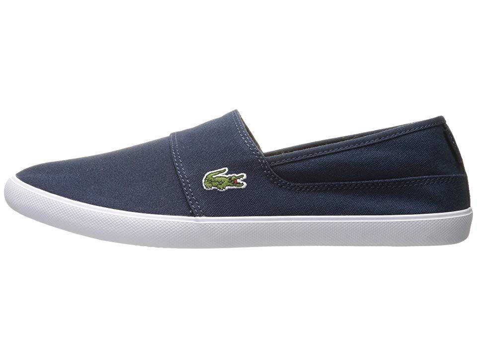 5 Slip Marice Men's Dark Bl Lacoste Blue 2 Blue Size dark M 11 Canvas on AI8Uxqwnx