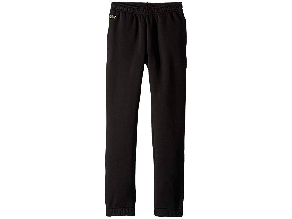 amp; Fleece Little Negro Boy's Pants 10 Lacoste Tamaño 76ZxqZ