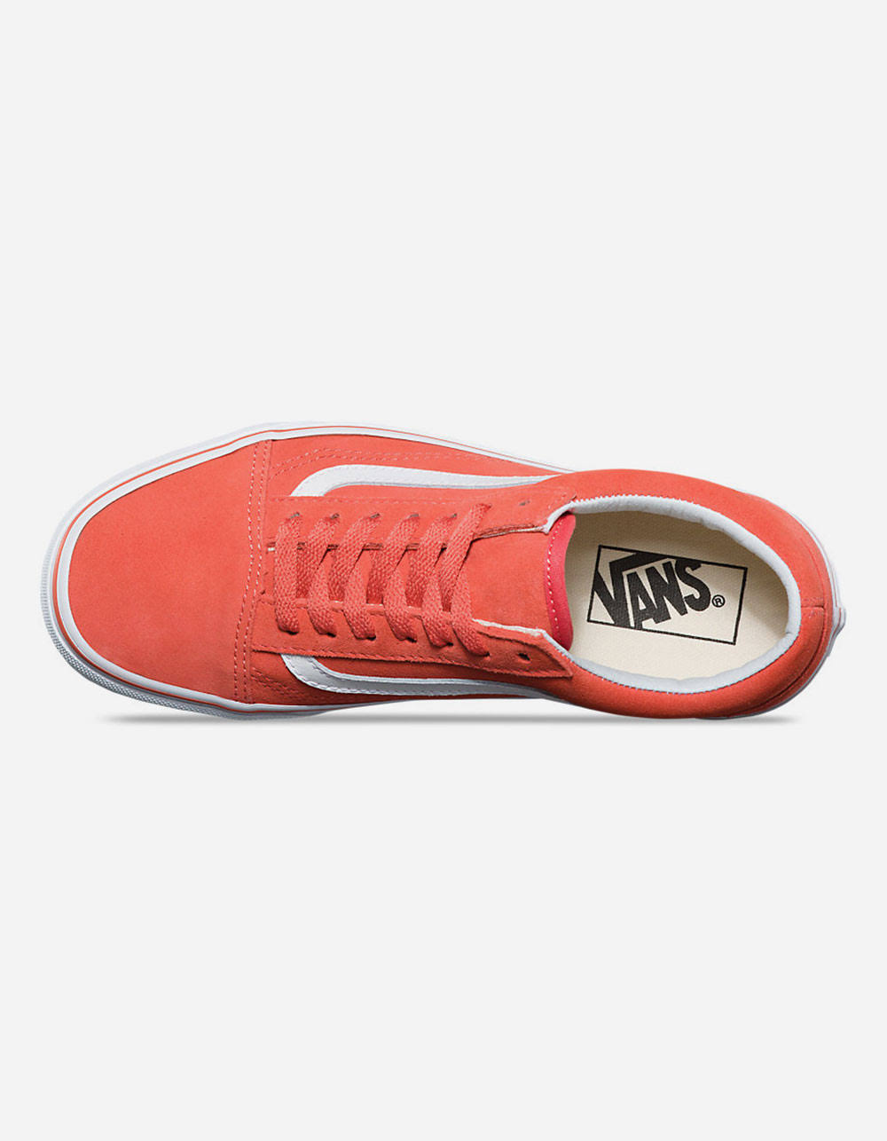 Old Mujer 4 True White 5 Tamaño Coral Skool Zapatos Spiced De Vans BS4qdd