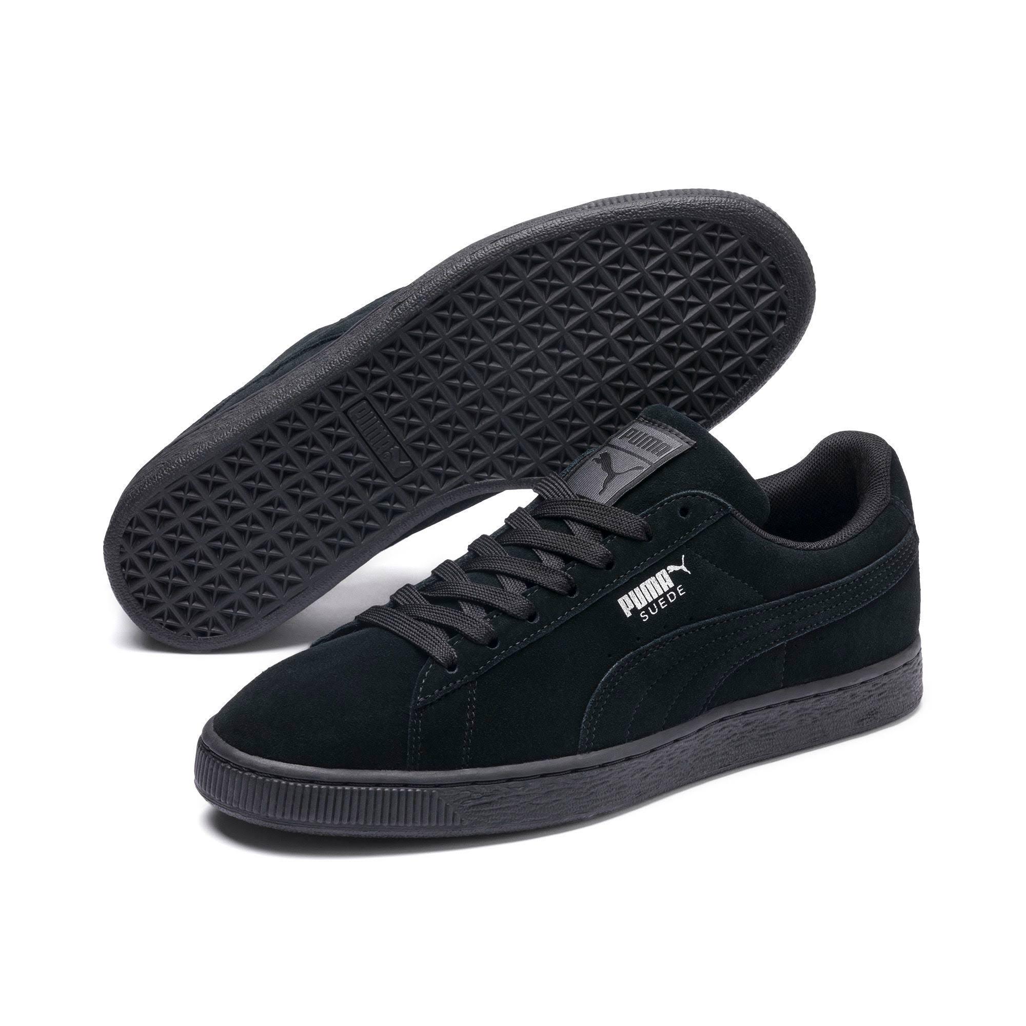 Black darkshadow Men's Black Suede Classic Puma Sneakers Men Sneaker RfndS