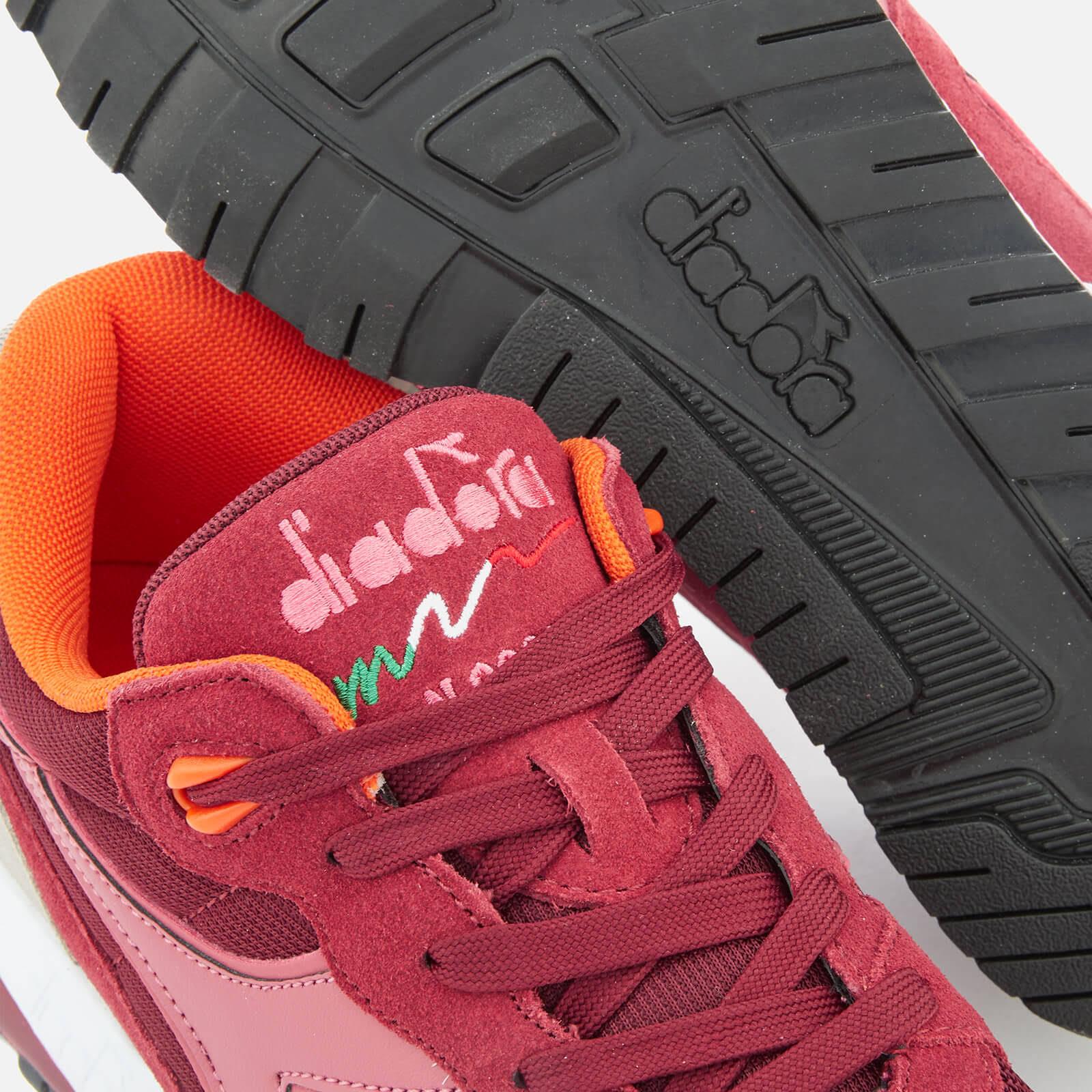 da Uk 111Rossoblu ardesia rosso uomo Rose ginnastica N9000 11 Scarpe Diadora E2IYHD9eW