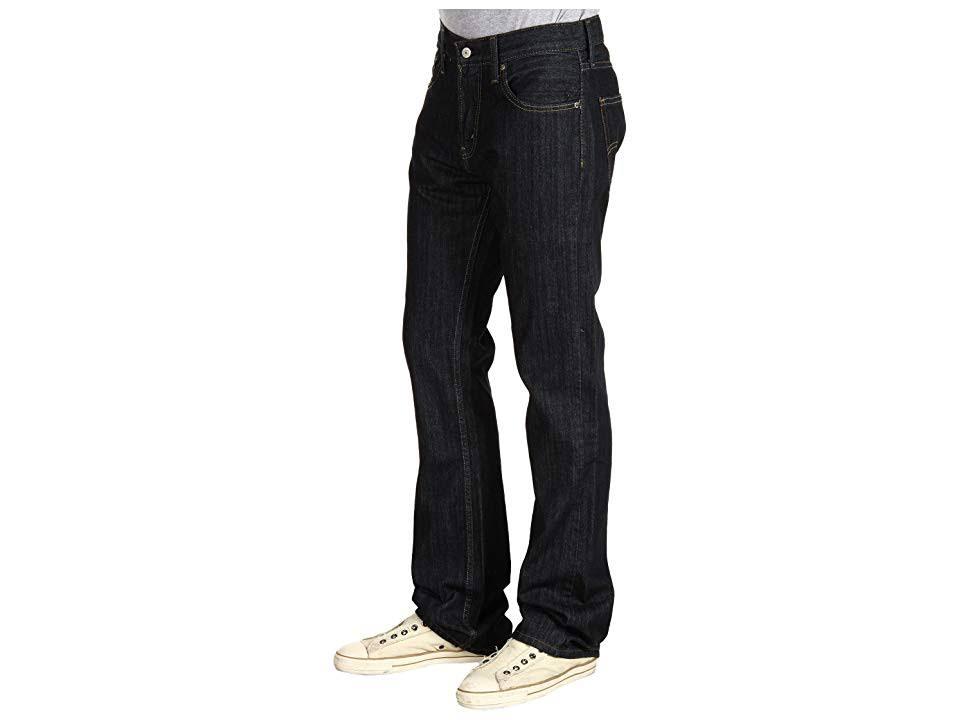 Hombres Rigid 36x32 Levi's Jeans Slim Boot Cut Tumbled Para 527 1wxgqxz