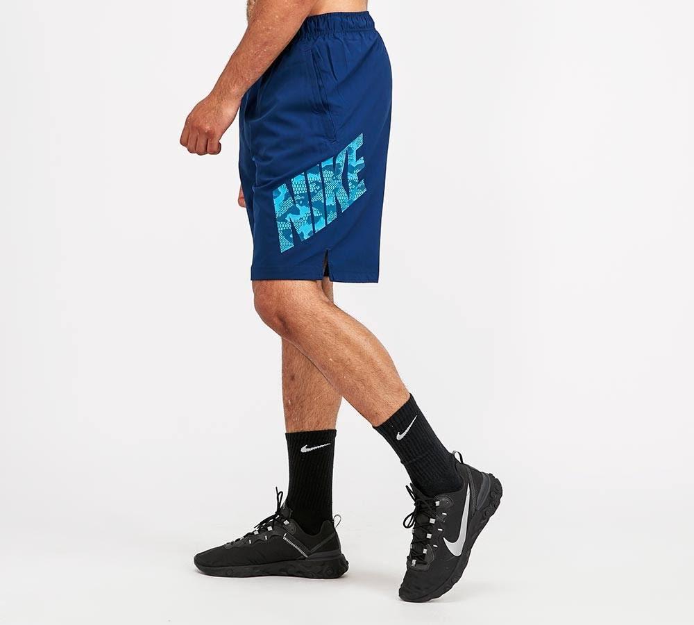 Nike Woven FLX 2.0 Camo Short - Blue - Size - M