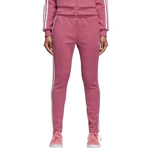 Superster Maroon damesTrace Trackpants voor Adidas Originals lK13FJcT