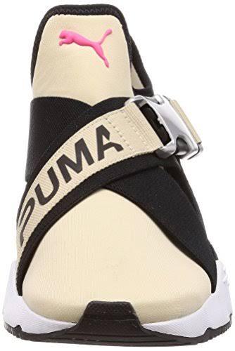 Caqui Sin Ajustable Con De Zapatillas crema Color Puma Hebilla Cordones zdqxO4Hw
