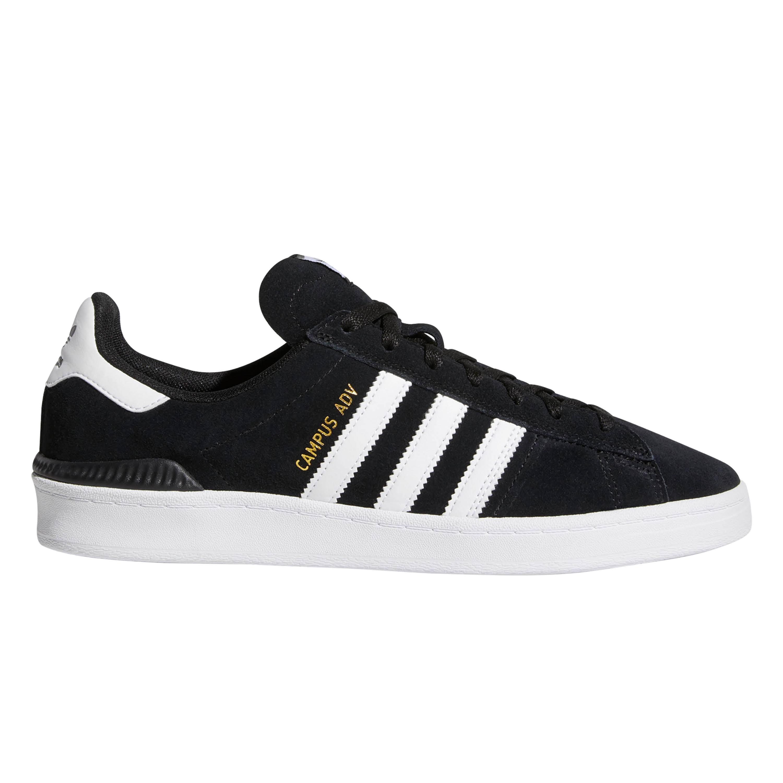 Adidas Campus ADV Shoes - Core Black / White / White