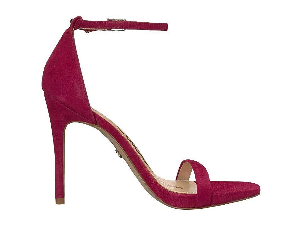 Sandal Sam Edelman Damesschoenen Pomegranate Heel 5 M Pink7 Strappy Ariella HEYWID92