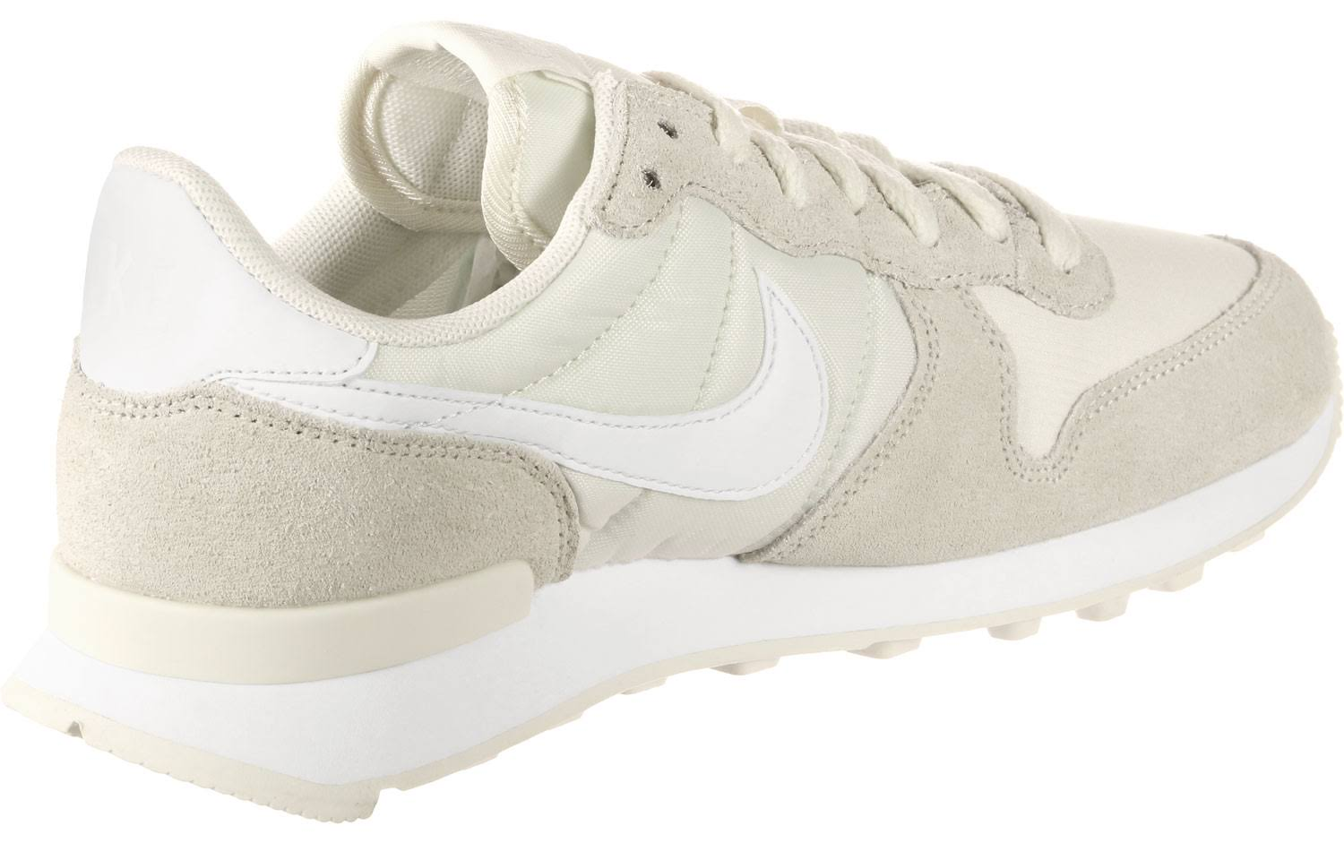 Dames Internationalist White Nike Schoenen Beige BroedxC