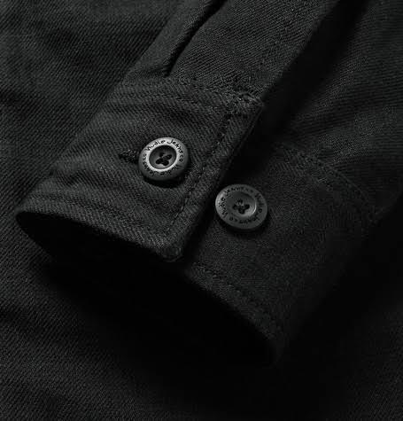 Nudie Jeans Black Camisa Men Sten Denim Jacket w7qH16w