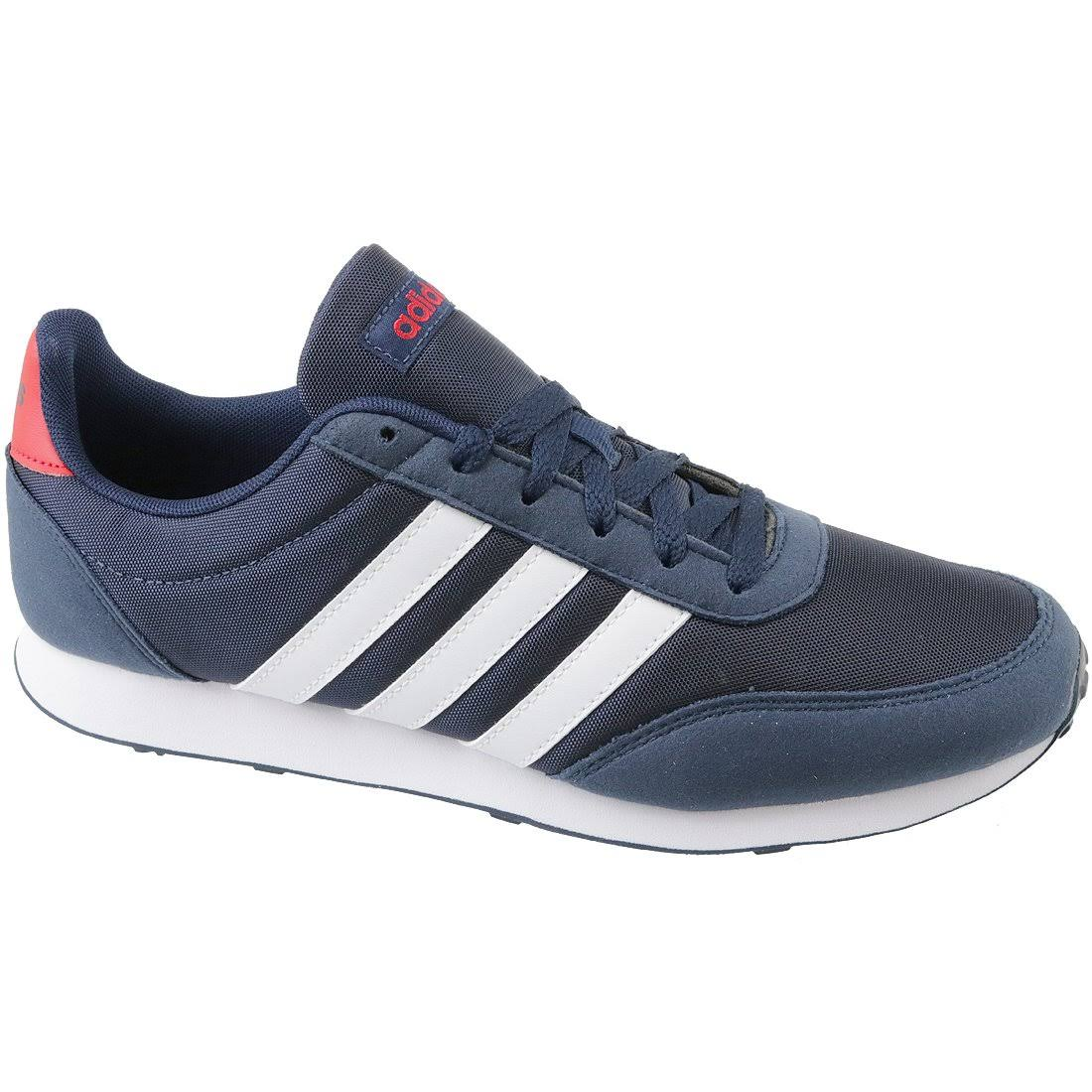 (7) Adidas V Racer 2.0 CG5706 Mens Navy Blue sneakers