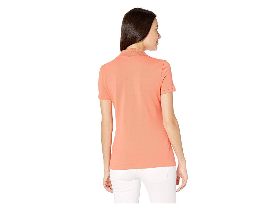 44 Cinco Slim Fit Rosa Polo De Camisa Botones Lacoste wafvqwP8
