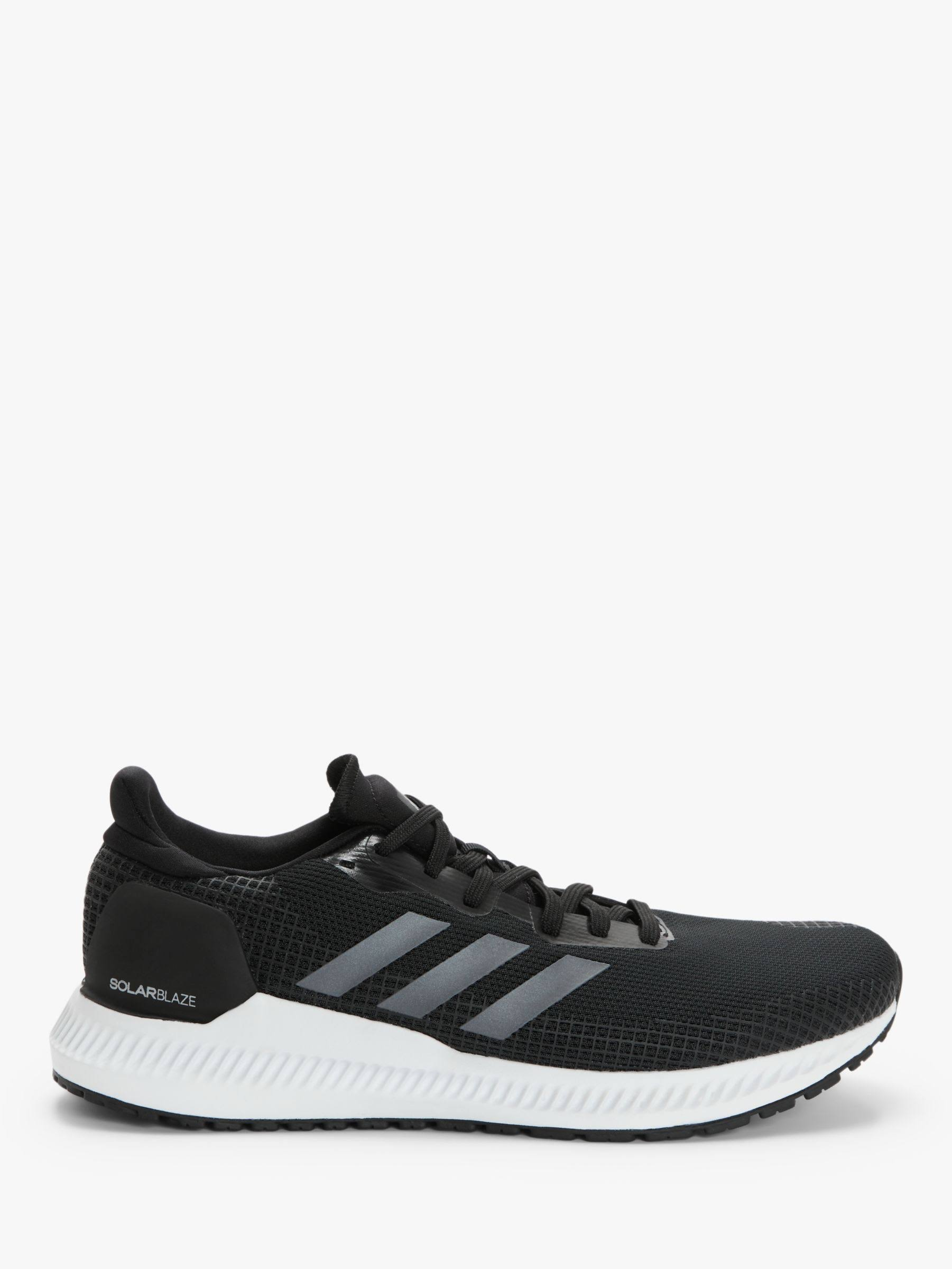 Adidas Solar Blaze Shoes Running - Black - Men