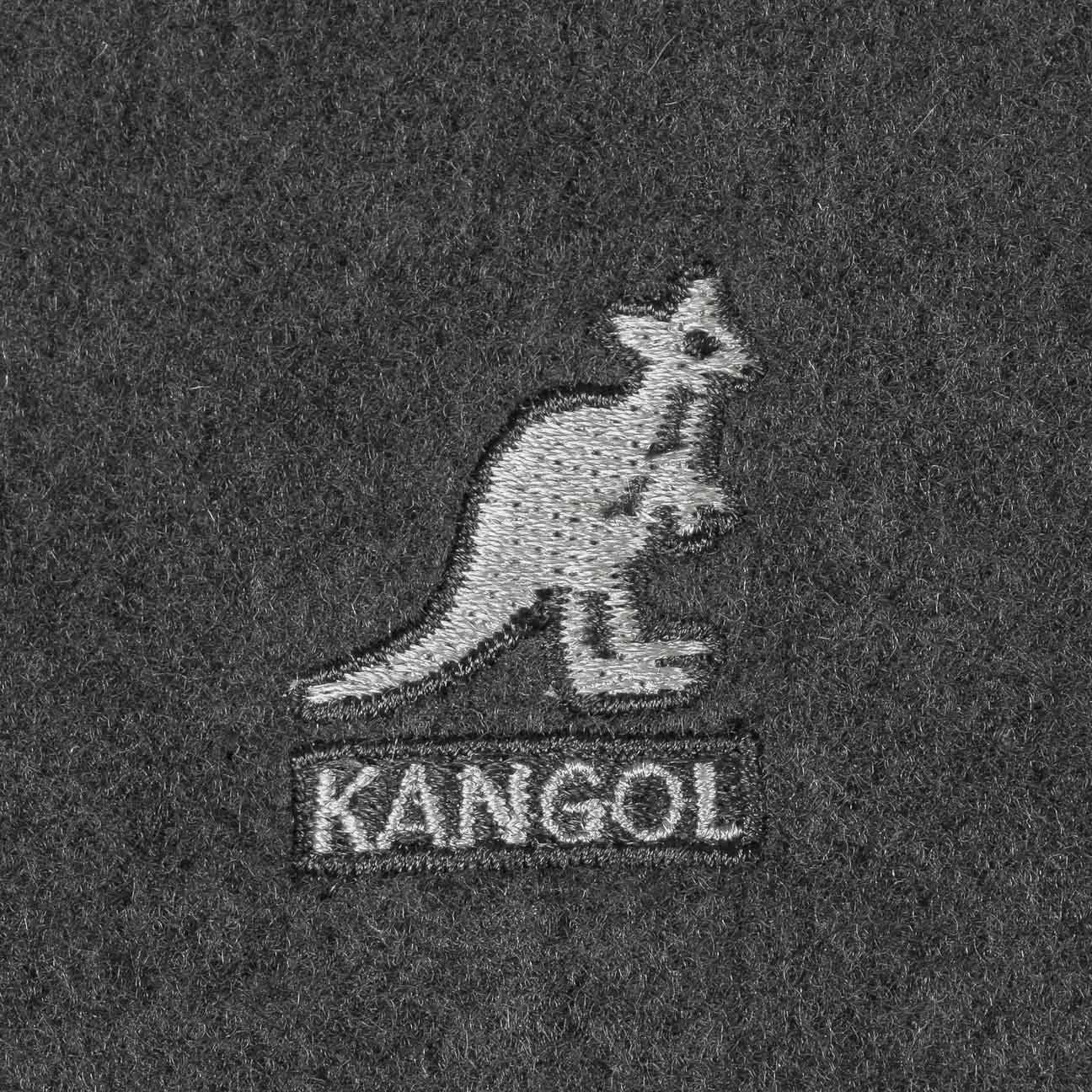 Flacher Dark Wolle Kangol 504 Flannel hut Capivy fTw56n5qc