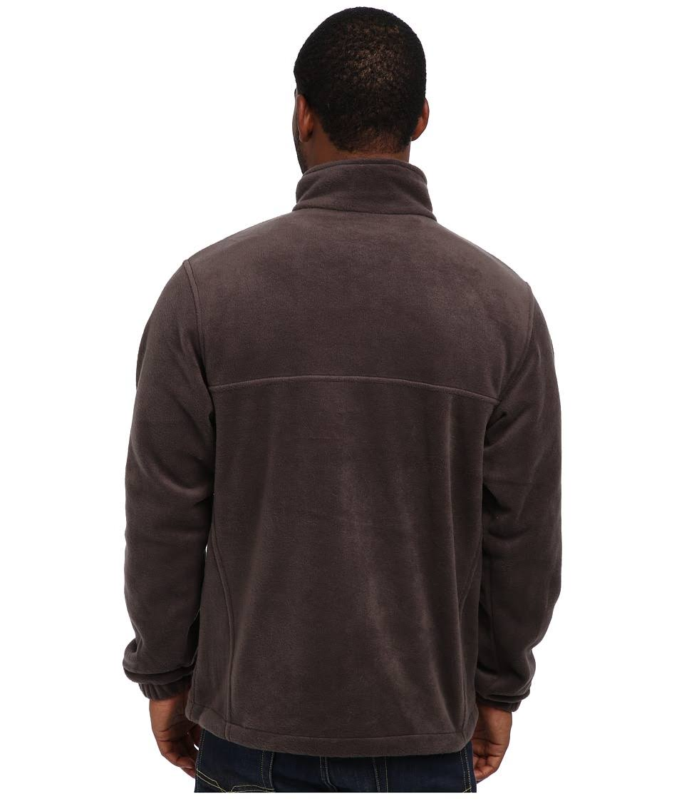 0 Normal Herrenjacke Columbia Fleece 2 Größe Full Steens Zip Medium Dunkelgrau Mountain zw6qw