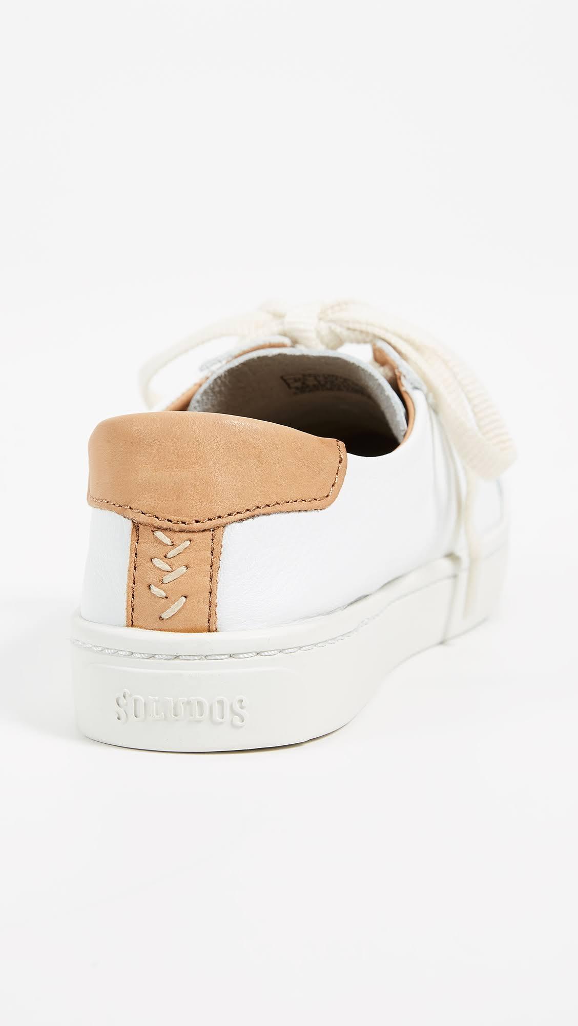 5 5 Sneakers Stringate Ibiza Bianche Classic Soludos 0nOXwk8P