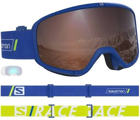 Color Salomon Glasses Blue size Race Size Seven Blue Four Sports One rqrwz6POx