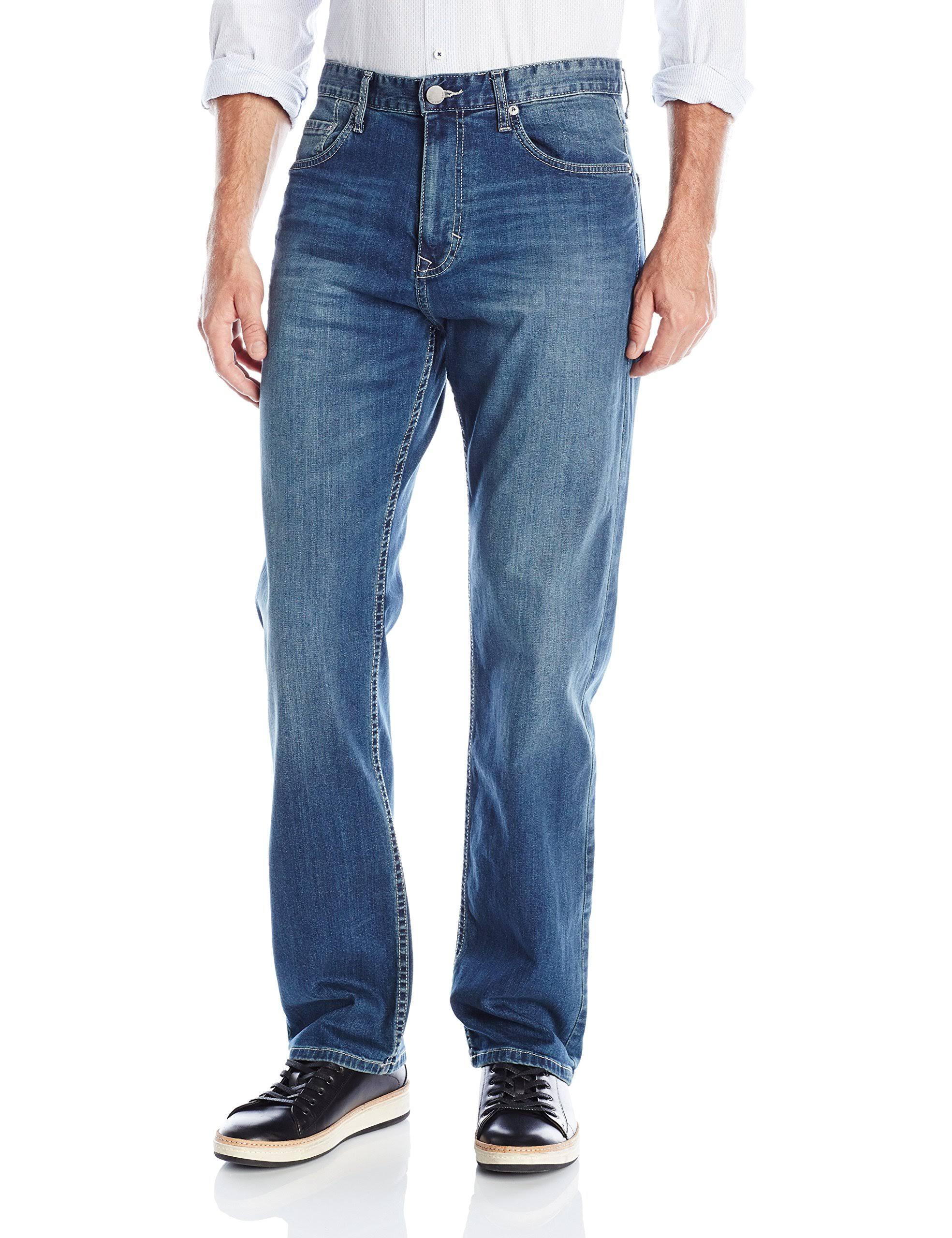 Calvin 32x30 Authentic Stretch Männer fit Jeans Klein Stretch Blau pSwSq0rfx