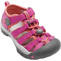 Children's Keen Newport H2 Sandal, Kids Unisex, Size: 6 M, Very Berry/Fusion Coral