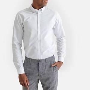 Oxford Camisa Para Classic Mediana Tamaño La Hombre Collections Redoute Blanca HZAdqwZ