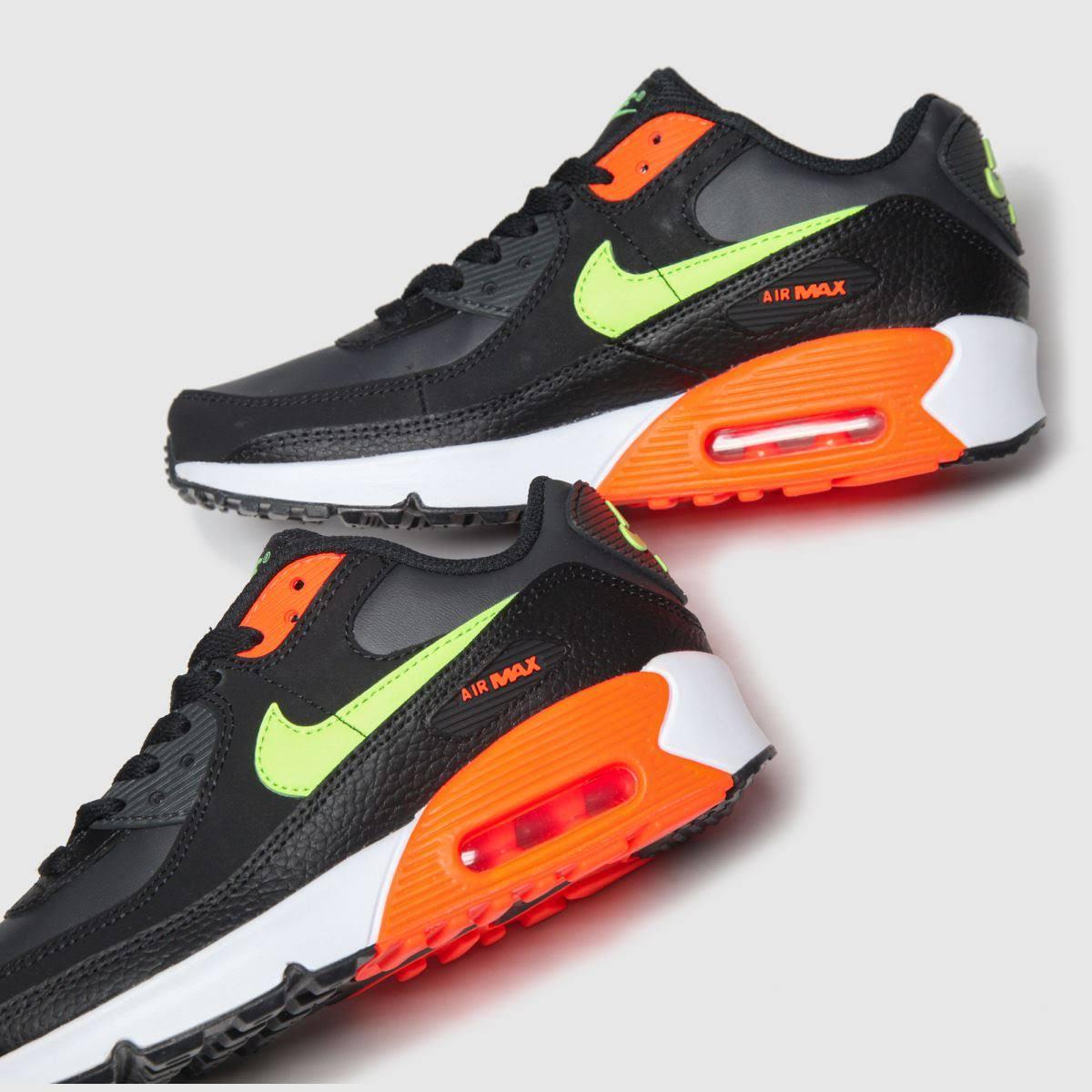 Nike Air Max 90 Older Kids' Shoe - Black