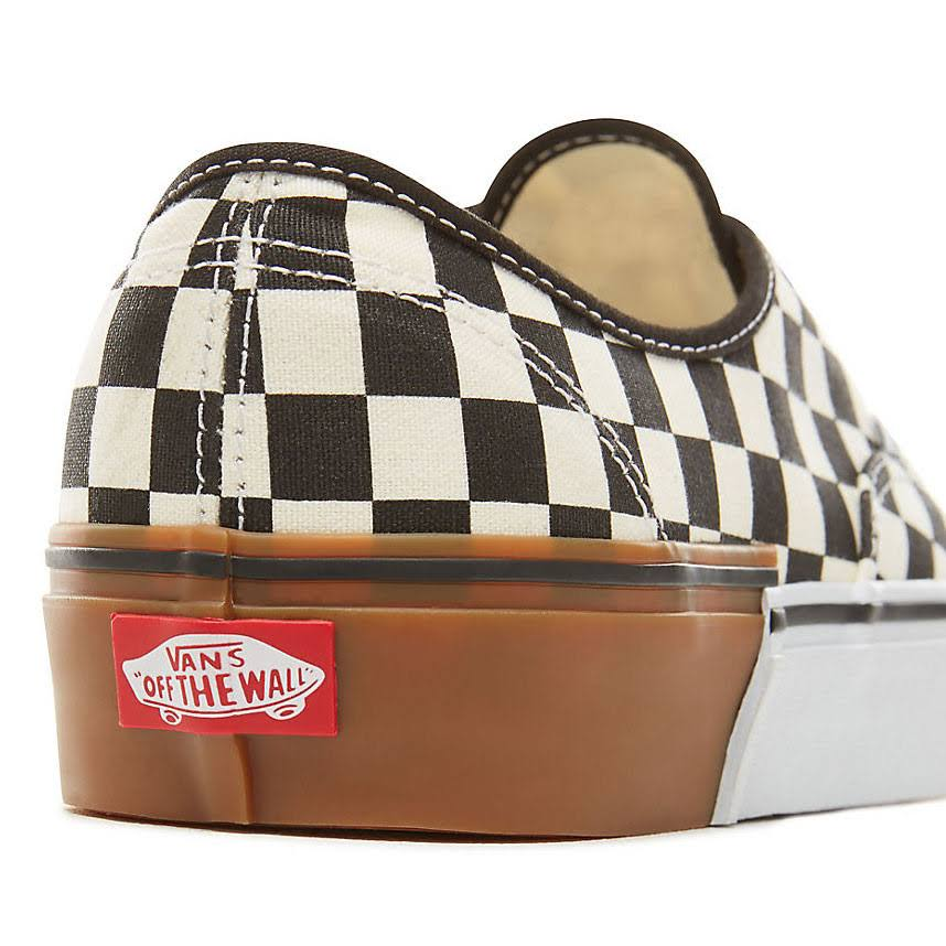 womens Checkerboard Us Vans 5 8 Cream Block 9 Brown Gum Shoes Authentic IgqwgY6P