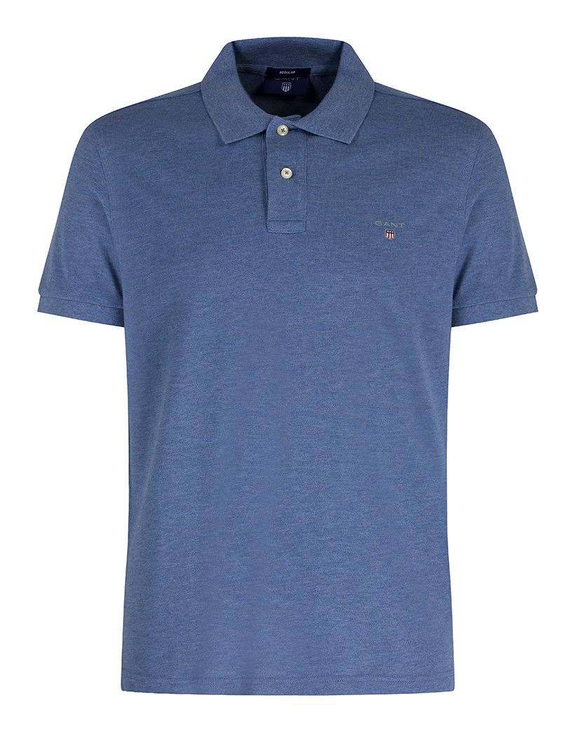 Melange 3xl Herren Rugger Blau Dunkle Pique Solid Poloshirt Jeans Gant q8zfgOn
