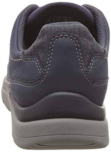 Panelled Shoes Tunsil blue Clarks Casual Canvas FnBxwS1
