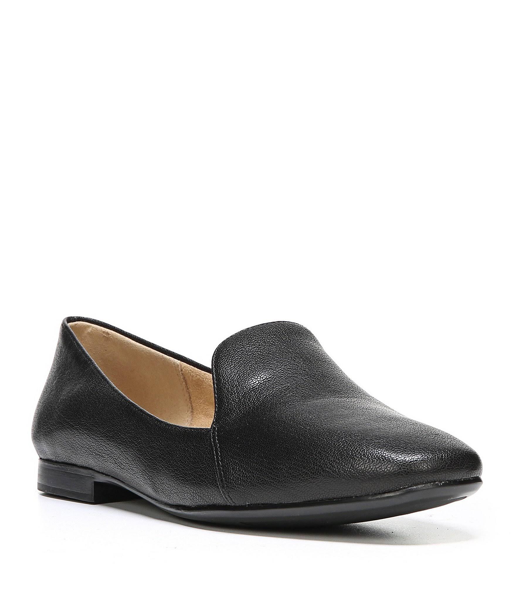 Black N 6 On Leather 5 Slip Naturalizer Tumble EmilineWomens uJcFTK3l1