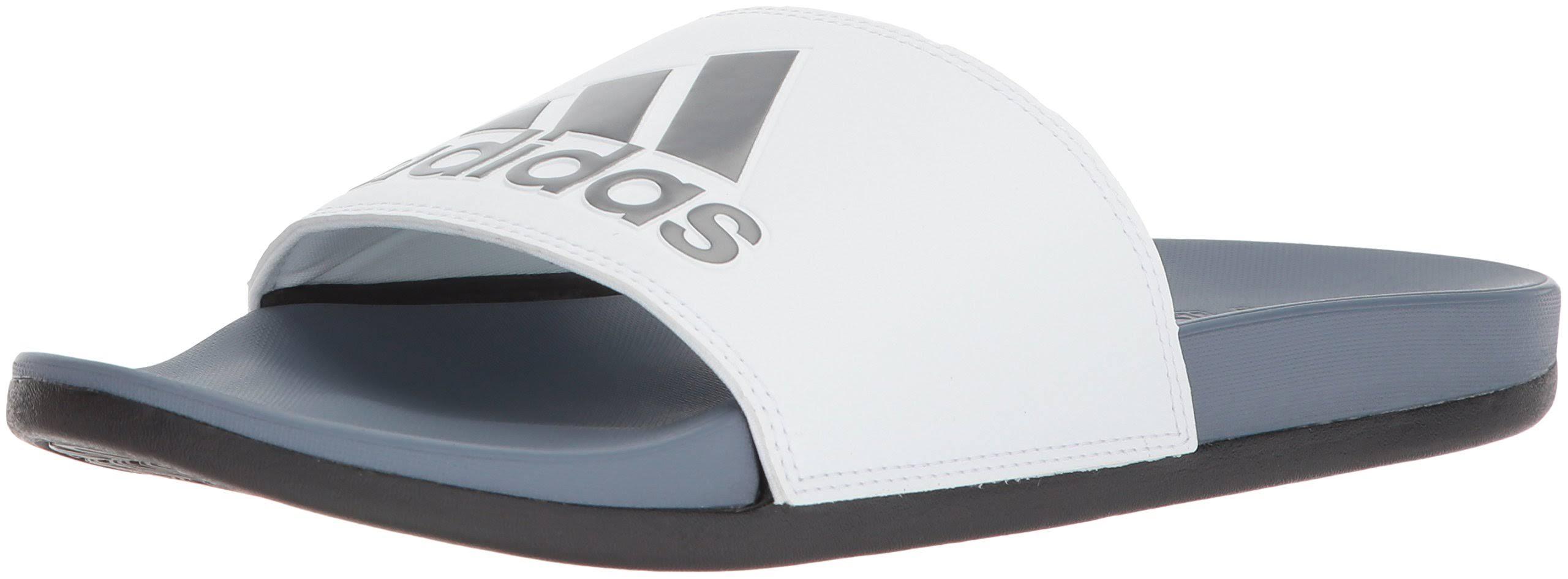 Black core Comfort Slides footwear White Steel Raw Adidas Men's Adilette Uqvw8Pz