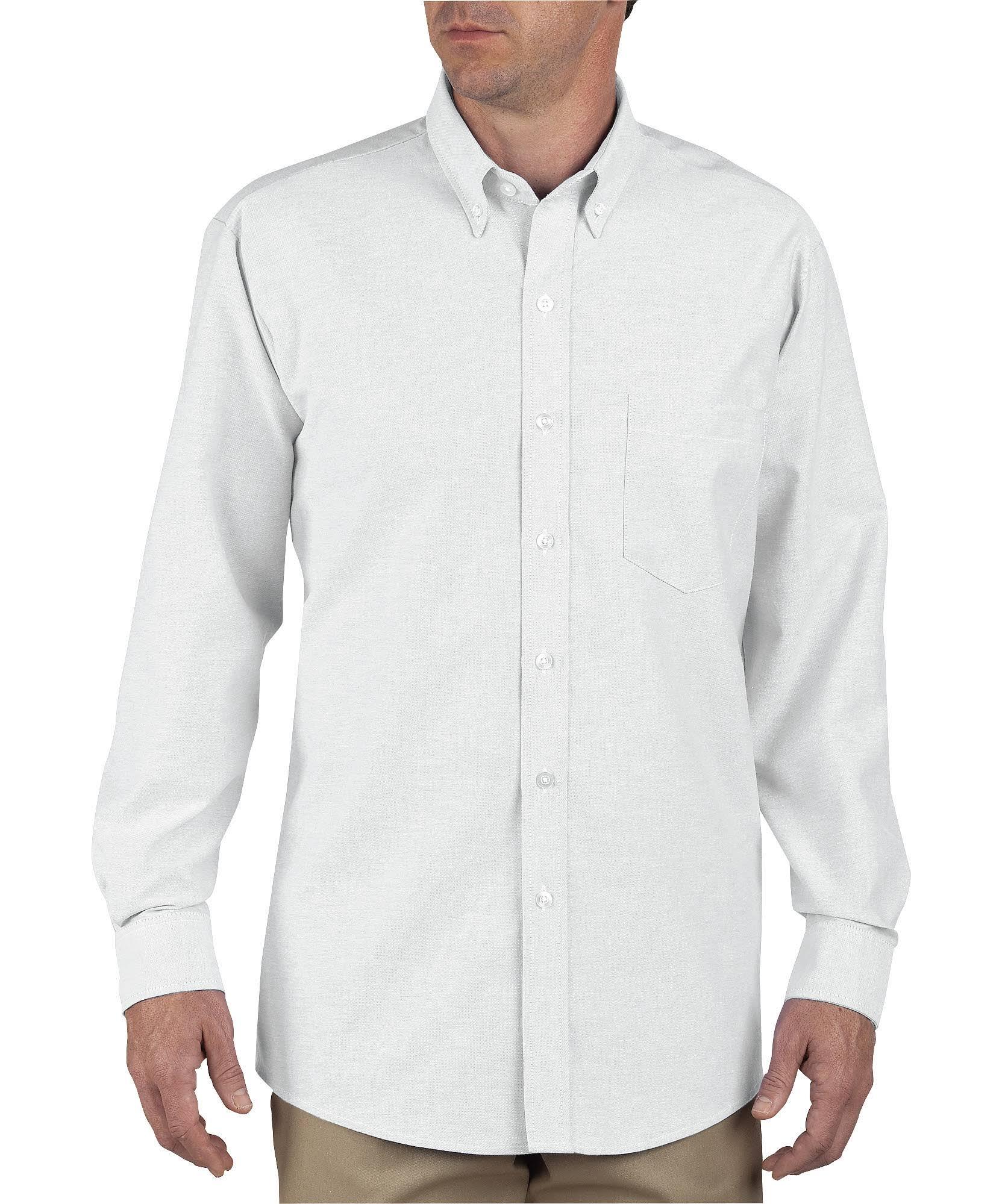 Larga Oxford Camisa Blanco 14 Ss36 Dicks Abotonado Manga 5 De 171gxt