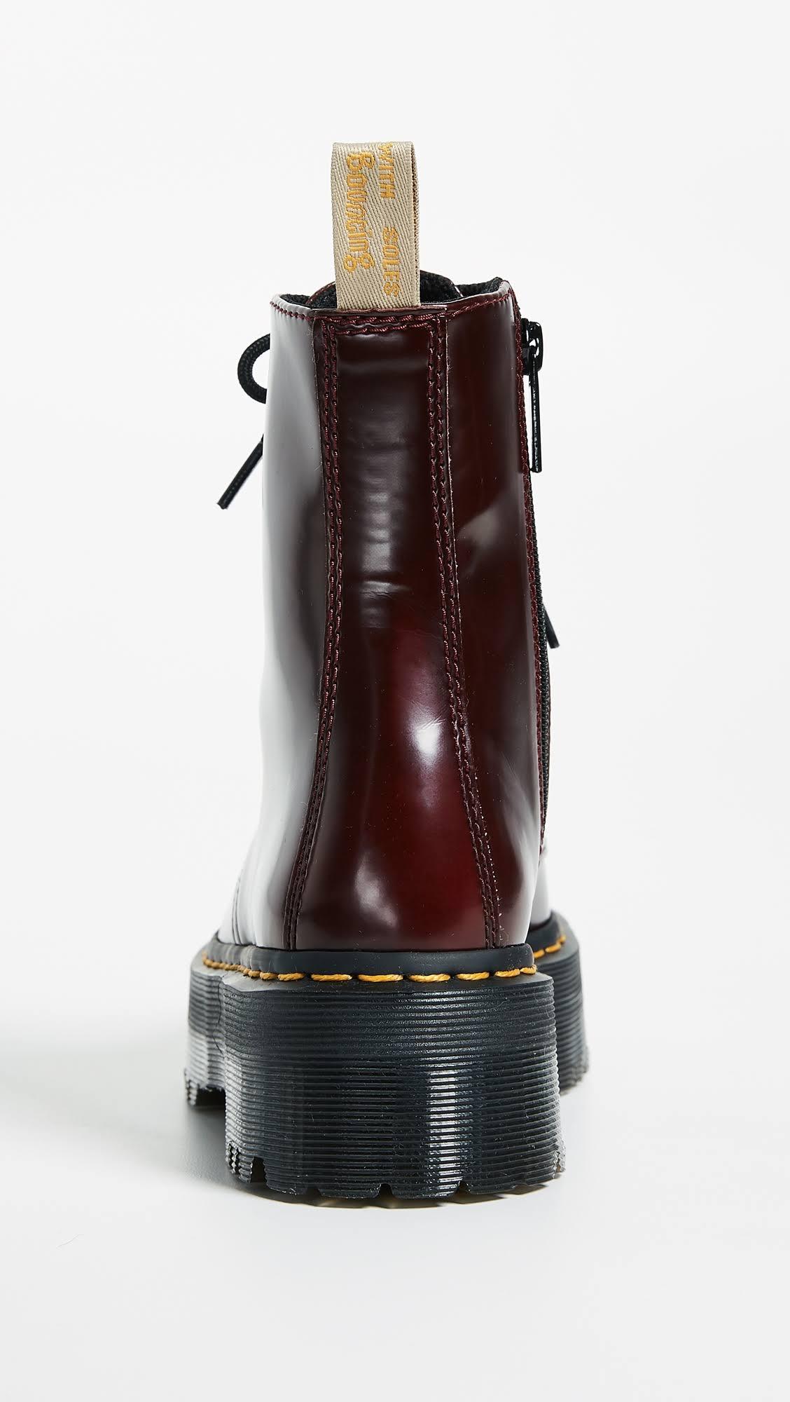 Eye 10 Ii Jadon DrMartens Boots V Red 8 Cherry QCrBshdxt