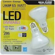 Led Light Bulb Br30 Flood 2 Pack - Sale Price Limit 4