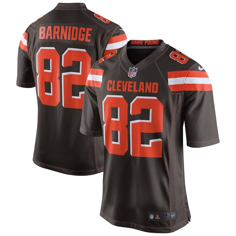 Cleveland Brown Nike Barnidge Jersey Game Browns Men's L Gary 6CqwBwxPO