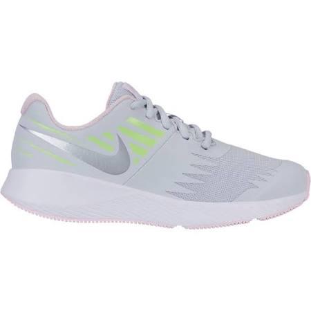 Nike Sneakers Scarpe Junior Star Runner Gs, Taglia: 38,5, per Bambino/a, Argento, 907257-005
