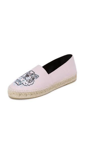 P Classic Pink 34a Kenzo Espadrilles Canvas Tiger Faded 0Pngq