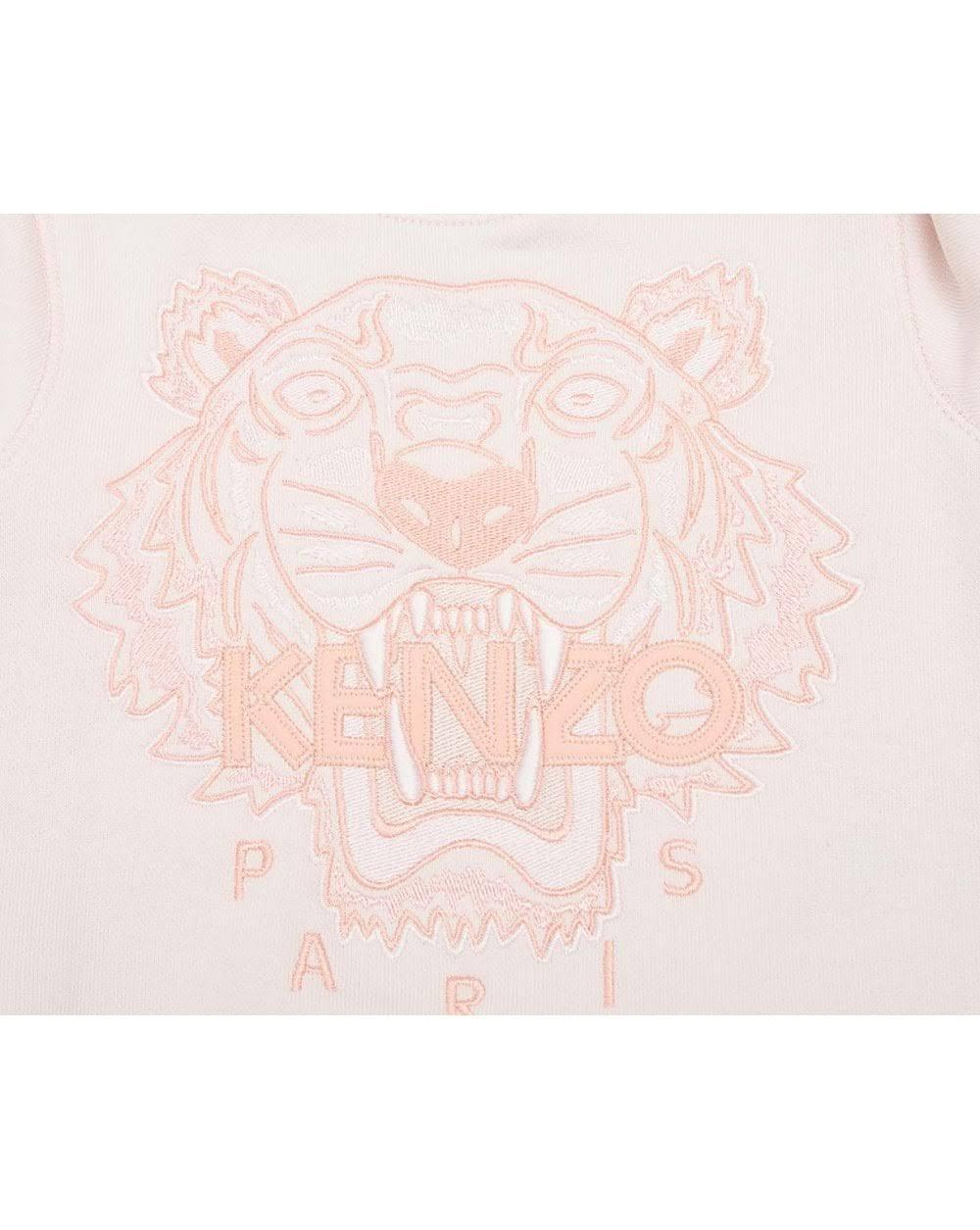 Mädchen Light Tiger Pink Kenzo Cotton Sweatshirt Kinder 5Wq1WwC0