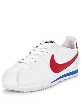 Nike Classic Cortez Leather Sportswear Women White