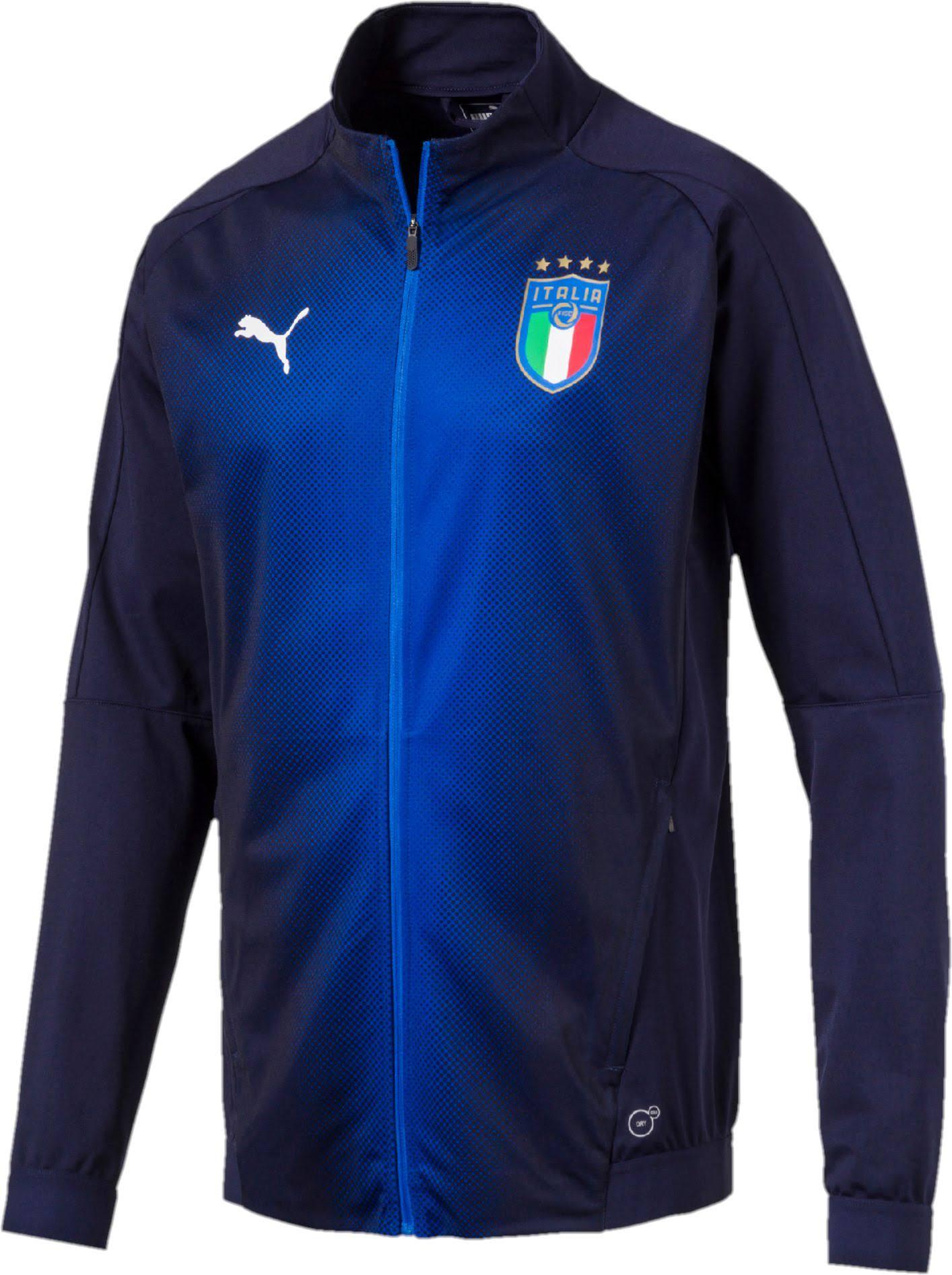 M Stadium Blau Puma Italy Jacket 75231410 FvTzB