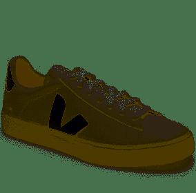 Veja Campo Sneaker, Size 38Eu in Extra-White/Black at Nordstrom