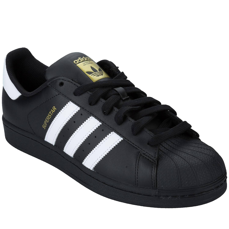 Adidas 'Originals' Superstar Foundation Trainers - Black/White