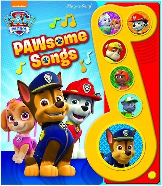 Pawsome Paw Songs Patrol Musiknote Pi Kleine Kids Von 5q4BqwC